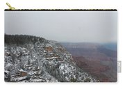 Grand Canyon In Snow Carry-all Pouch