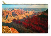 Grand Canyon National Park Sunset On North Rim Carry-all Pouch