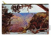 Grand Canyon National Park - Winter On South Rim Carry-all Pouch