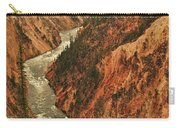Grand Canyon Of The Yellowstone Vertical Panorama Carry-all Pouch