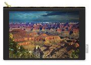 Grand Canyon Storm Carry-all Pouch
