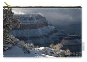 Grand Canyon Storm Carry-all Pouch by Sandra Bronstein