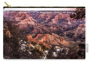 Grand Canyon Winter Sunrise Landscape At Yaki Point Carry-all Pouch