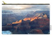 Grand Canyon With Snow Carry-all Pouch