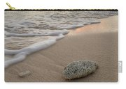 Grand Cayman Beach Coral At Sunset Carry-all Pouch