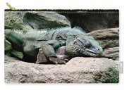 Grand Cayman Blue Iguana Carry-all Pouch