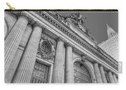Grand Central Terminal - Chrysler Building Bw Carry-all Pouch