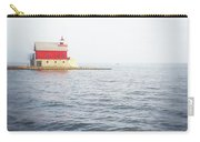 Grand Haven Lighthouse From North Pier Carry-all Pouch