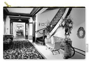 Grand Island Mansion Mosher Ranch 7 B And W Carry-all Pouch