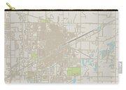 Grand Island Nebraska Us City Street Map Carry-all Pouch