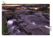 Grand Marais Lighthouse At Sunset Carry-all Pouch