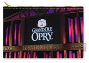 Grand Ole Opry House In Nashville, Tennessee. Carry-all Pouch