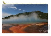 Grand Prismatic Spring At Yellowstone's Midway Geyser Basin Carry-all Pouch