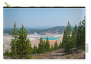 Grand Prismatic Spring Panorama Carry-all Pouch