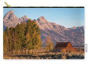 Grand Teton Mountain View Carry-all Pouch