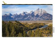 Grand Teton Mountains Carry-all Pouch