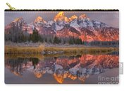 Grand Teton Snake River Sunrise Reflections Carry-all Pouch
