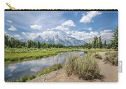 Grand Teton View No.1 Carry-all Pouch by Margaret Pitcher