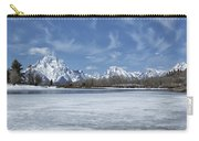 Grand Tetons And Snake River From Oxbow Bend Carry-all Pouch