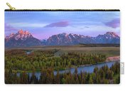 Grand Tetons Carry-all Pouch by Chad Dutson