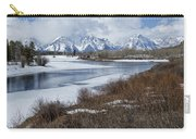Grand Tetons From Oxbow Bend Carry-all Pouch