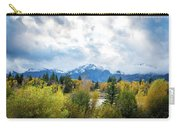 Grand Tetons In The Fall Carry-all Pouch