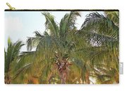 Grand Turk Palms On The Beach Carry-all Pouch