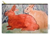 Grandma's Bunnies Carry-all Pouch