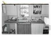 Grandma's Kitchen B W Carry-all Pouch