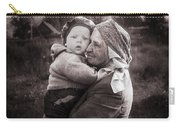 Grandmother And Child Carry-all Pouch