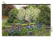 Grandmother's Garden Spring Blossoms Carry-all Pouch