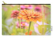 Grandmother's Zinnia Carry-all Pouch