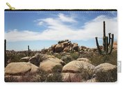 Granite Boulders And Saguaros  Carry-all Pouch
