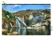 Granite Mountain Waterfall Panorama Carry-all Pouch