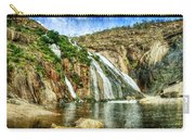 Granite Mountain Waterfall - Vintage Version Carry-all Pouch