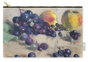 Grape And Peach Carry-all Pouch