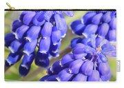 Grape Hyacinth Closeup Carry-all Pouch