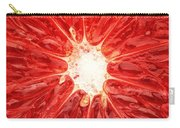 Grapefruit Close-up Carry-all Pouch