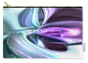 Grapes And Cream Abstract Carry-all Pouch