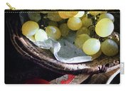 Grapes And Tomatoes Carry-all Pouch
