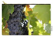 Grapes Carry-all Pouch by Nancy Ingersoll