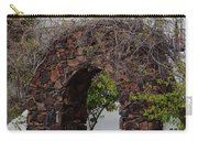 Grapevine Covered Stone Garden Door Carry-all Pouch