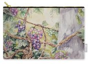 Grapevine Laurel Lakevineyard Carry-all Pouch