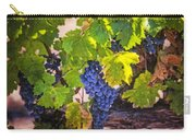 Grapevine With Texture Carry-all Pouch