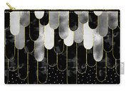 Graphic Art Feathers Wild And Free Spirit - Sparkling Metals Carry-all Pouch