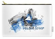 Graphic Art Music Lover - Blue Carry-all Pouch