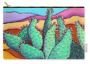 Graphic Cactus Carry-all Pouch
