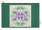 Graphic Designs Button Joy Carry-all Pouch