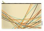 Graphic Line Pattern Carry-all Pouch by Setsiri Silapasuwanchai