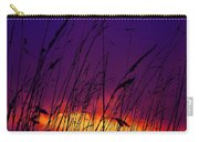 Grass At Dusk Carry-all Pouch